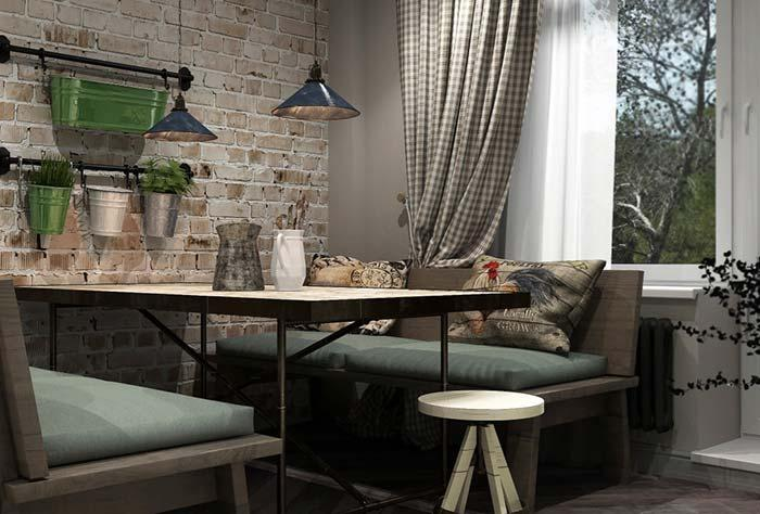 Rustic elements composing the Provencal decoration