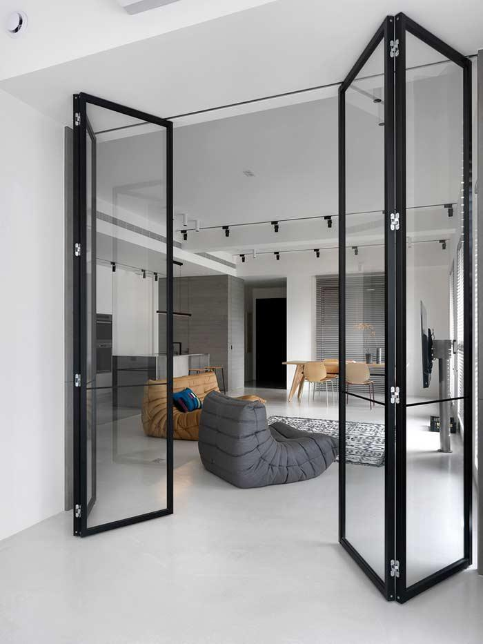 Glass door: 60 ideas and designs to inspire 8