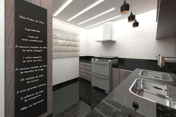 Mirror effect kitchen
