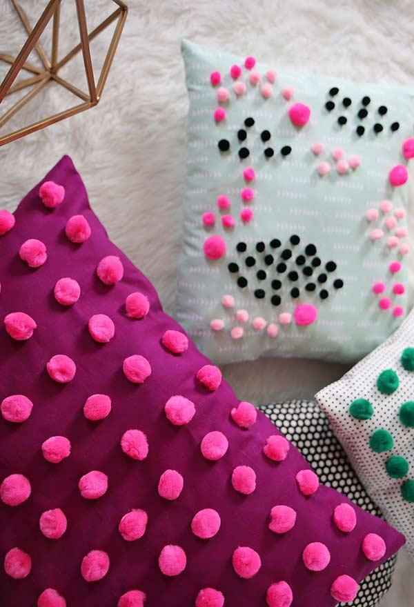 Fun pillows: 60 models full of joy to be inspired 18