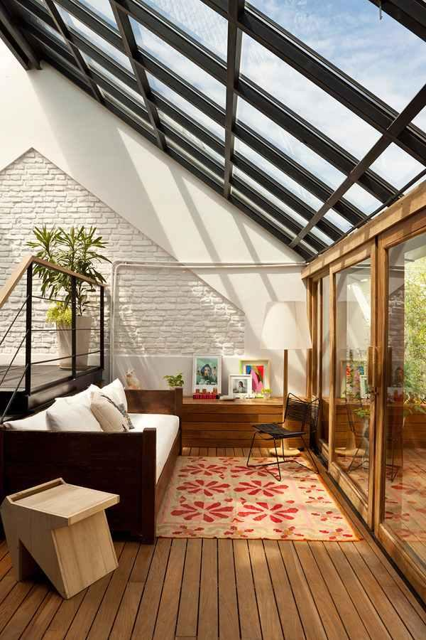 Glass roof: advantages, 60 photos and ideas to be inspired 56