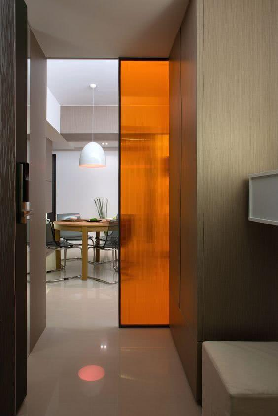 Sliding door: advantages of using and projects with photos 25