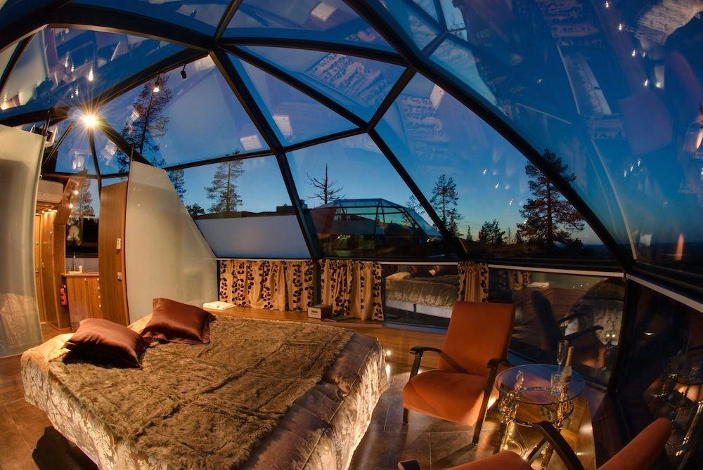 Glass roof: advantages, 60 photos and ideas to be inspired 54