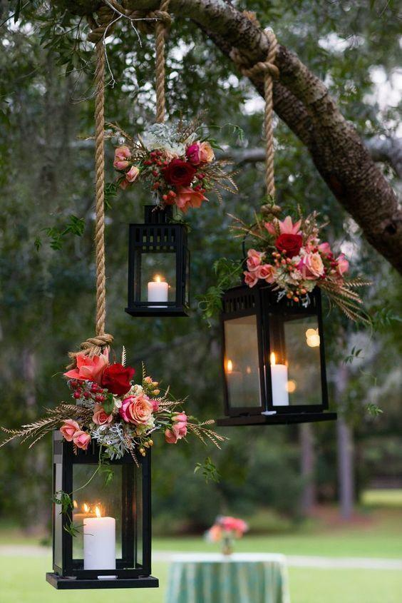 Wedding arrangements: 70 ideas for table, flowers and decoration 58