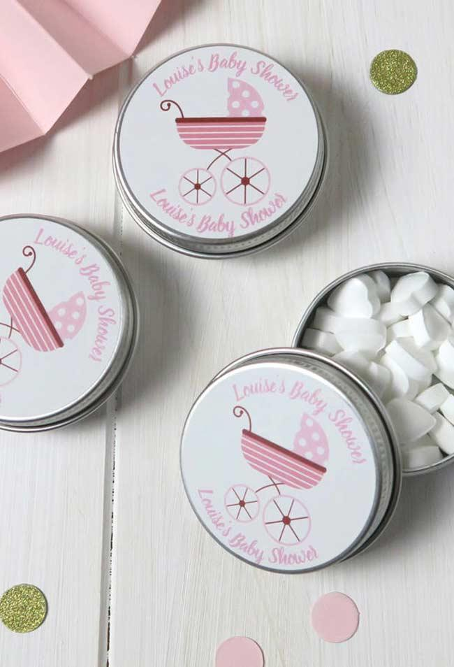 sugar jars in personalized cans