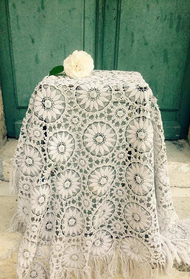 Towel for furniture in wedding decoration