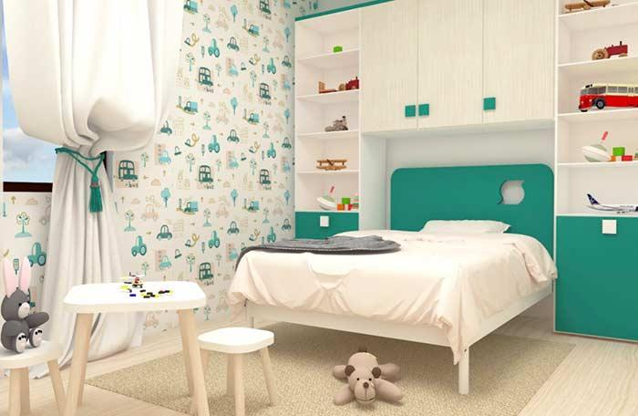 Invest in color in the children's room