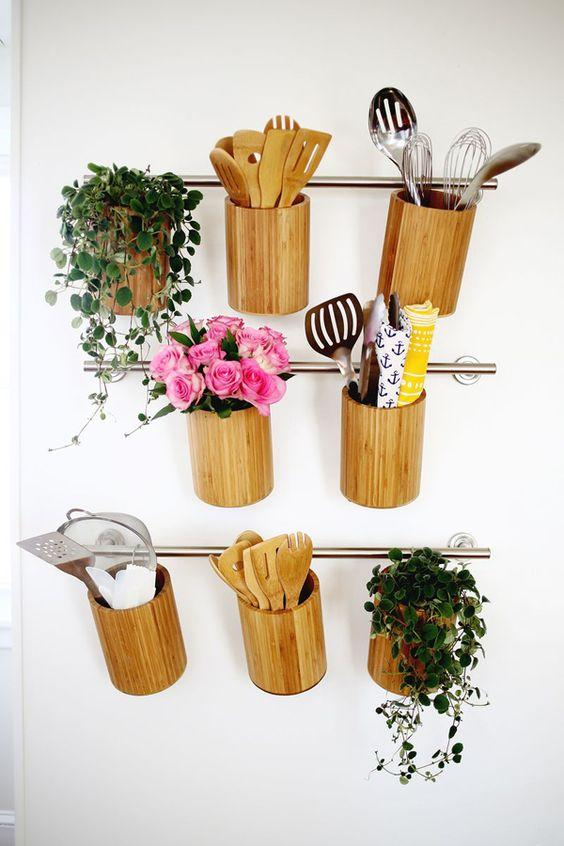 Bamboo Crafts: 60 models, photos and step by step DIY 20