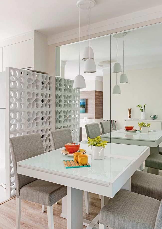 Cobogos: 60 ideas to insert leaked elements in the decoration 20