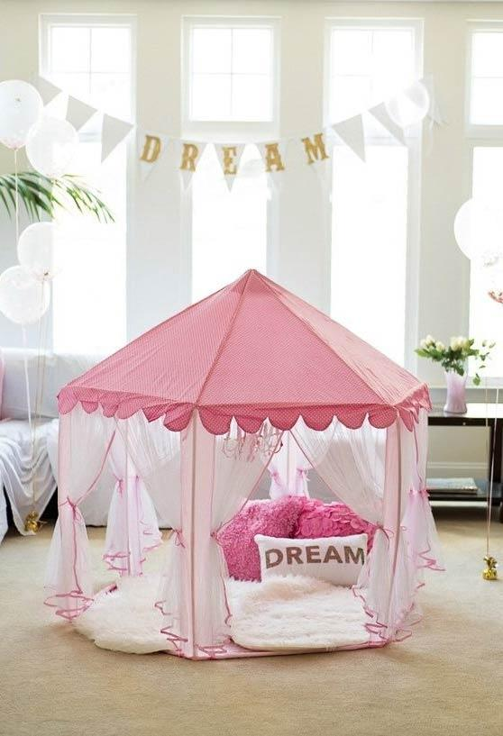 Dream tent for pajama party