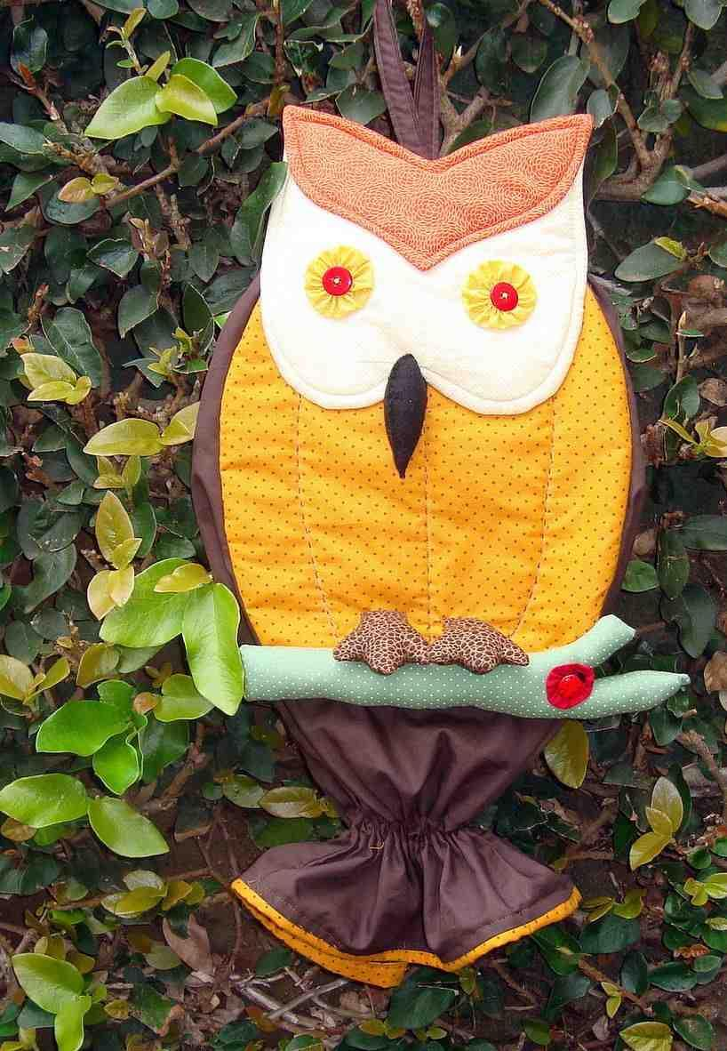 Owl bag pull: 60 ideas with photos and video step by step 26