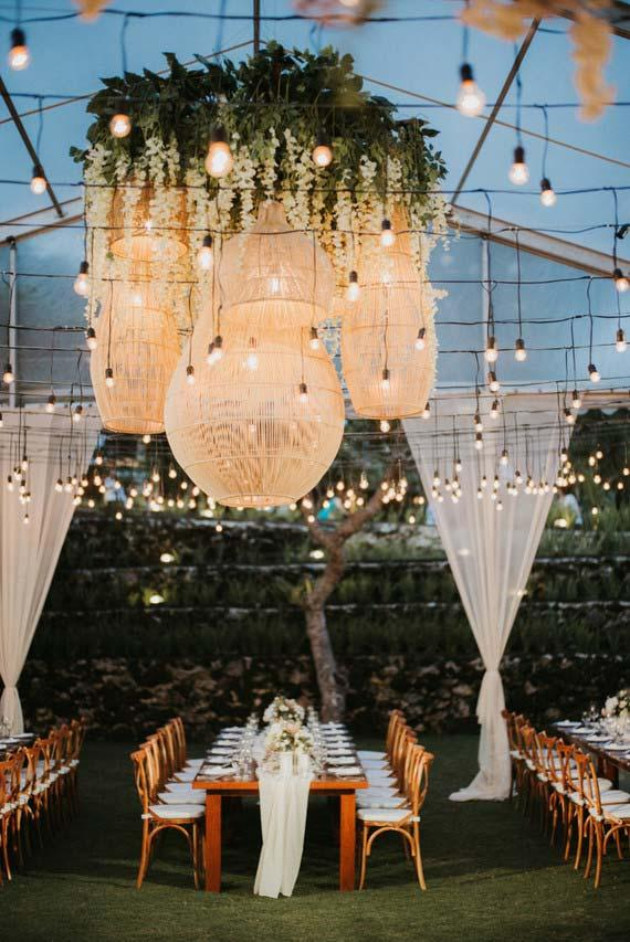 Pendant lamps for wedding 2018