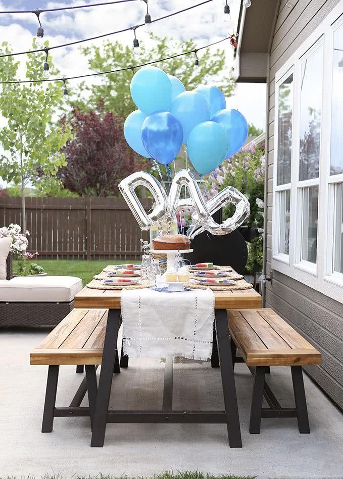 Fathers Day Decor: 60 creative ideas with step by step 50