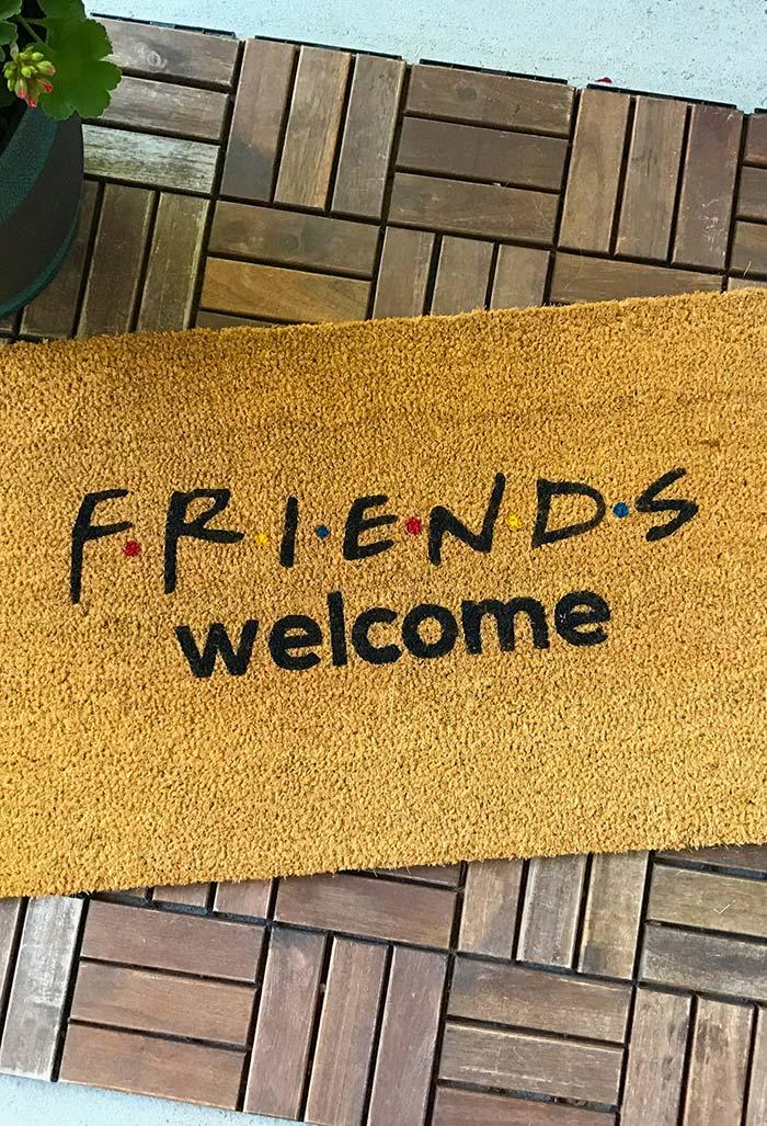 Fun doormats: welcome to brighten up your home 30
