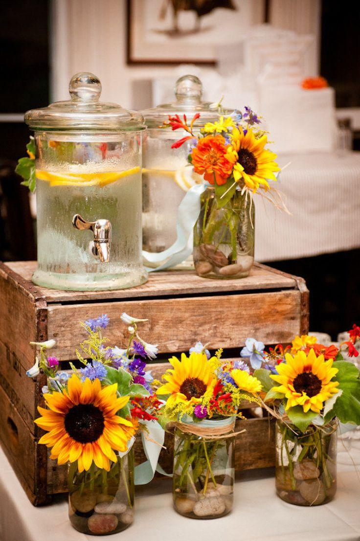 Rustic marriage: 80 decorating ideas, photos and DIY 13