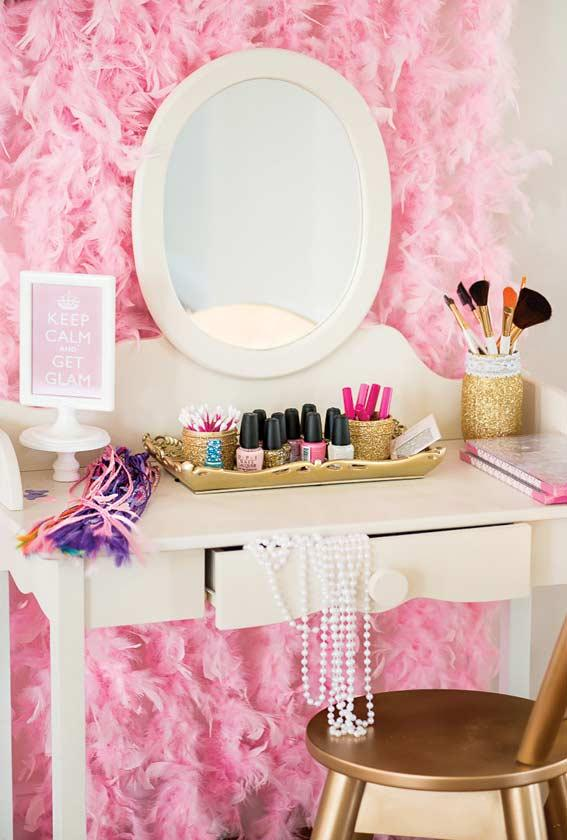 Dressing table for princess party