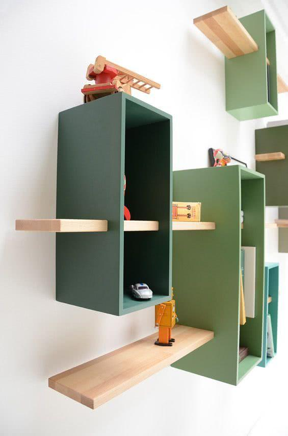 Creative Shelves: 60 Modern and Inspiring Solutions 14