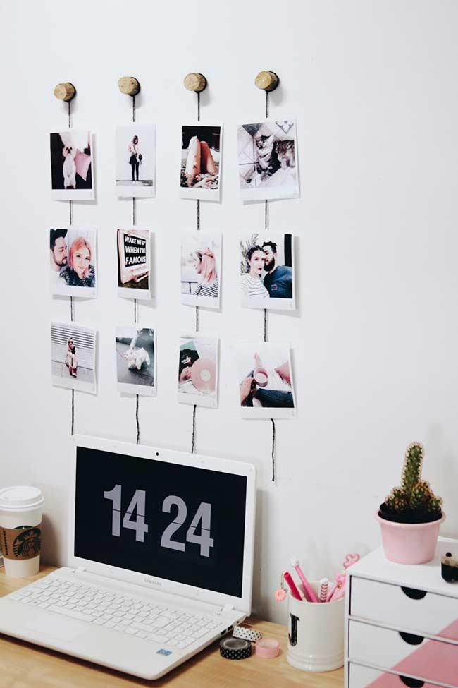 Simple, cheap and easy to do photo panel