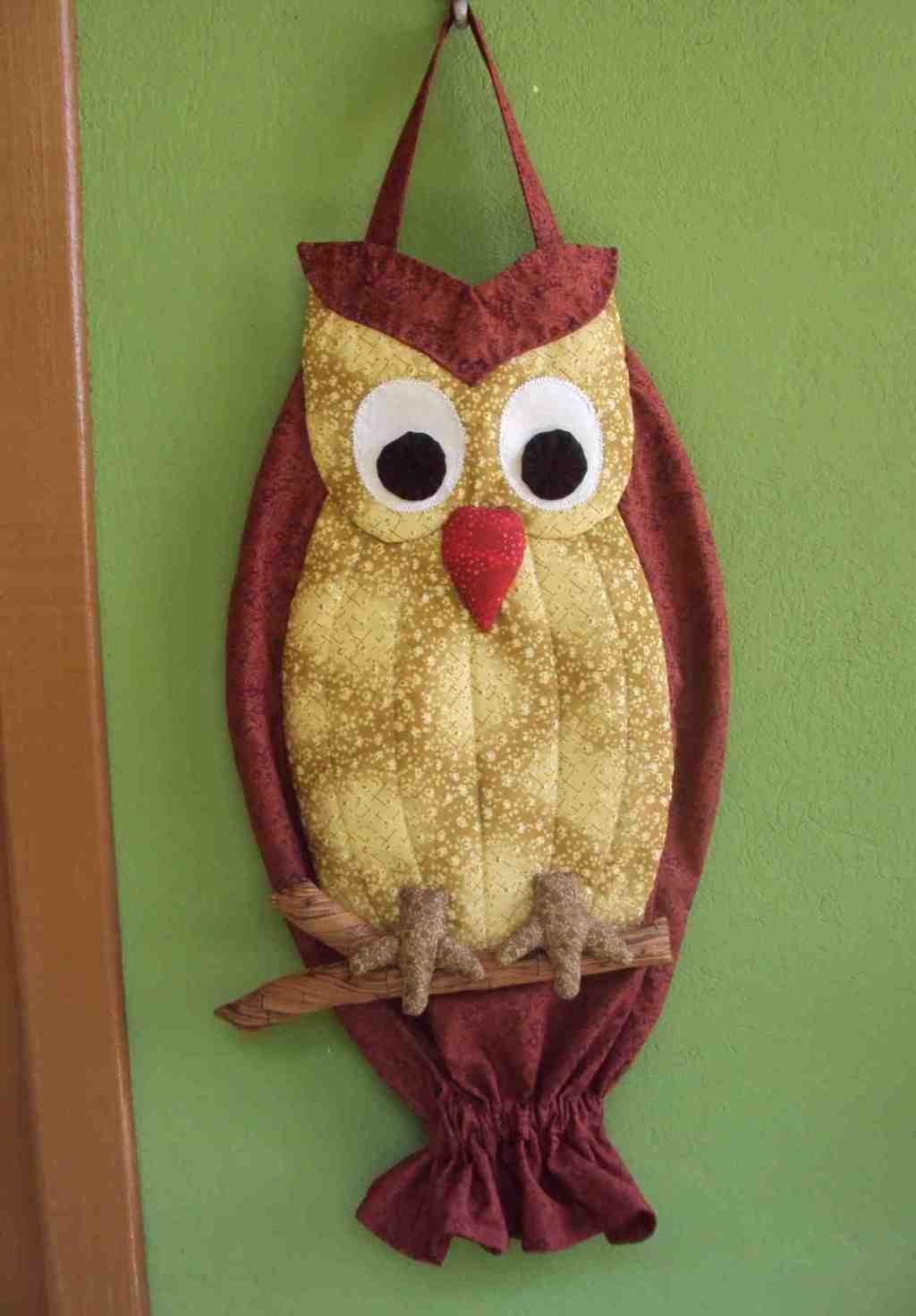 Owl bag pull: 60 ideas with photos and video step by step 1