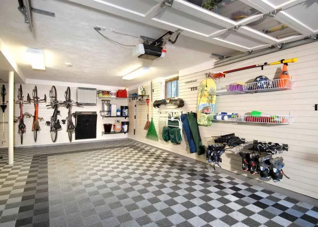 Garage floor: see key types and ideas for inspiration 41