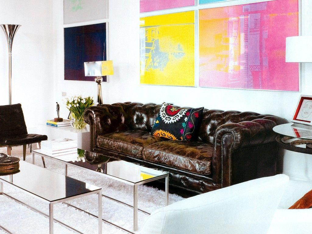 Leather sofa: 70 incredible models to decorate environments 28