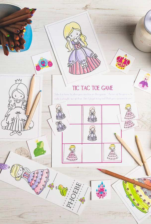Games and activities for princess party