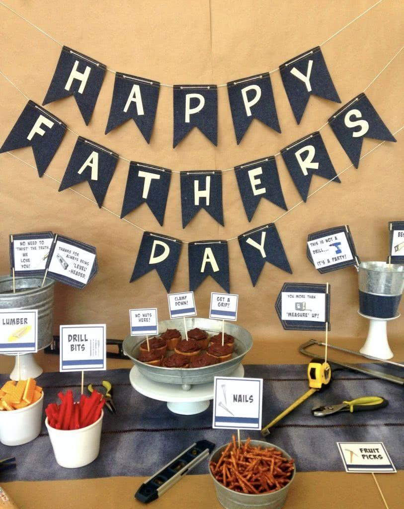 Fathers Day Decor: 60 Creative Ideas with Step by Step 35
