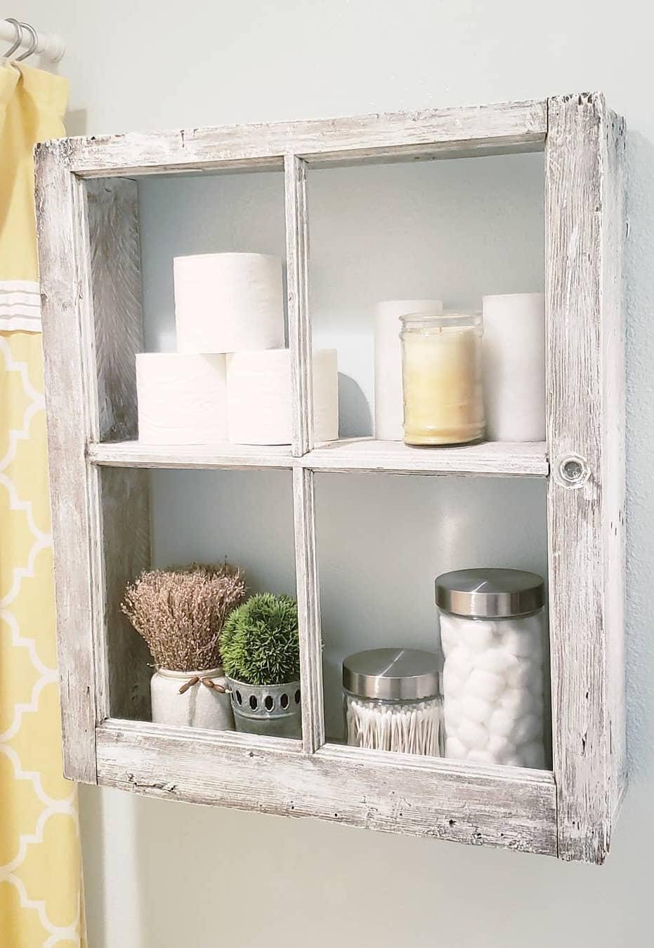 Pallet cabinet with glass doors