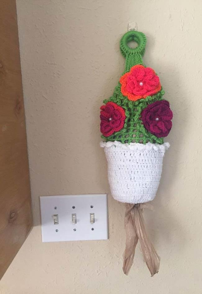Pulling crochet bag: 60 models, ideas, and step by step 44