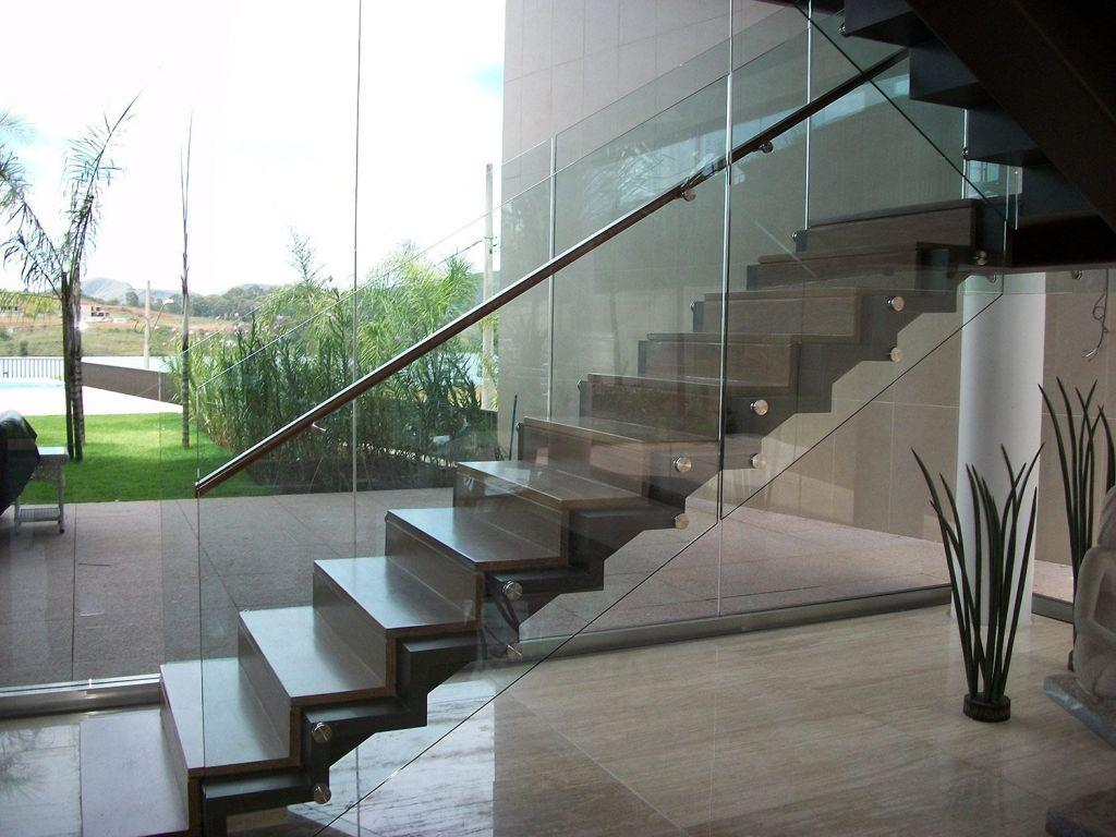 Stainless steel handrail: see tips and 60 models with photos 37