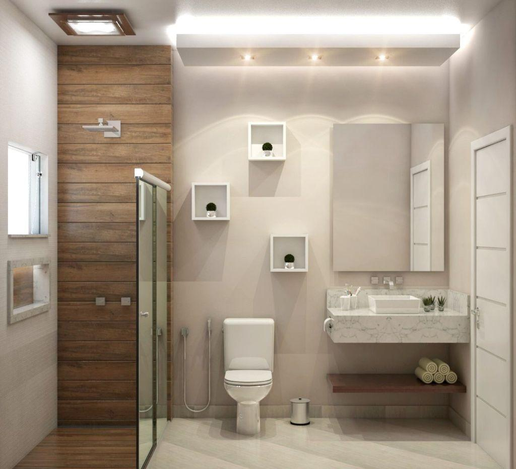 Bathroom Finishing: Types, Models and Photos 21