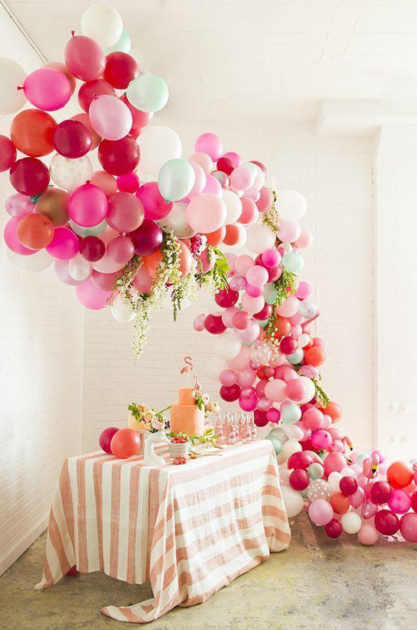 Decoration with balloons: 85 inspirations to decorate 7