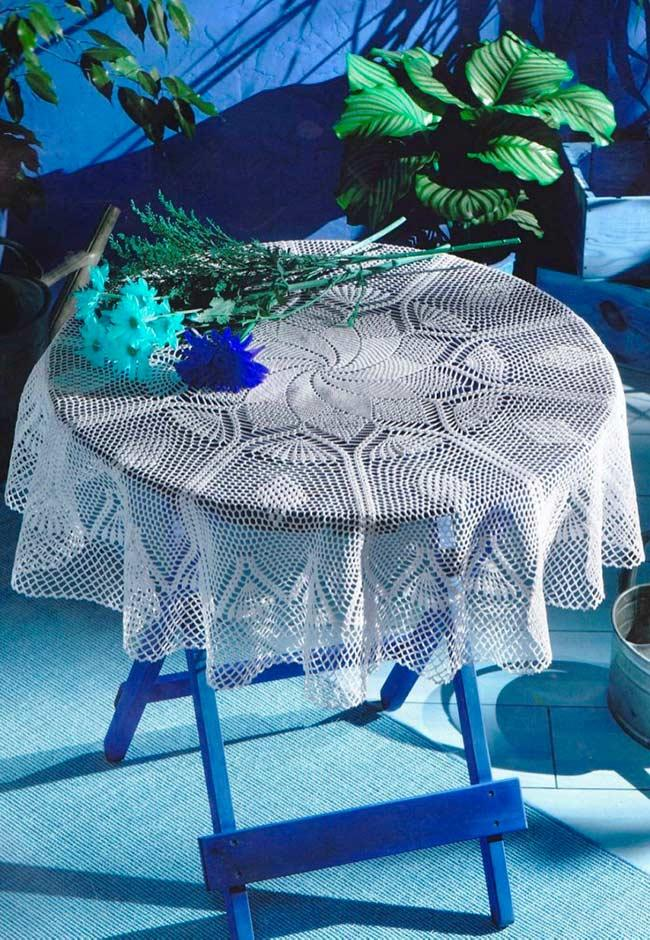 Crochet towel: ideas to add table decoration 1