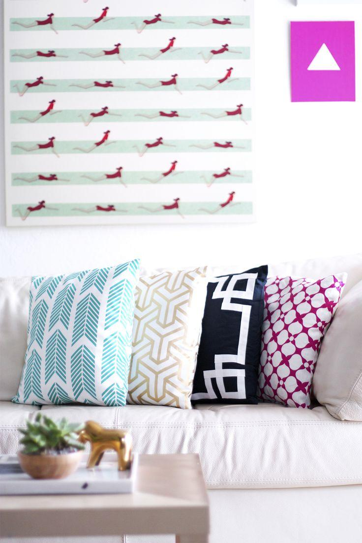 Use different patterns to match the room