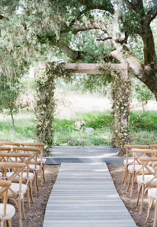 Country wedding: everything to decorate with this style of ceremony 7