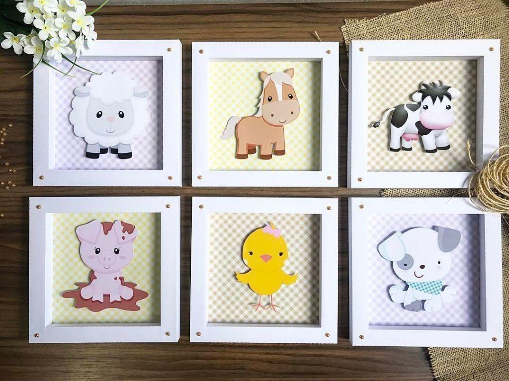How to make handmade pictures: templates, photos and step-by-step 38