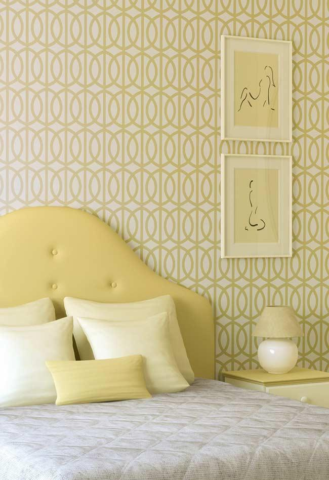 Relaxing environment with light yellow