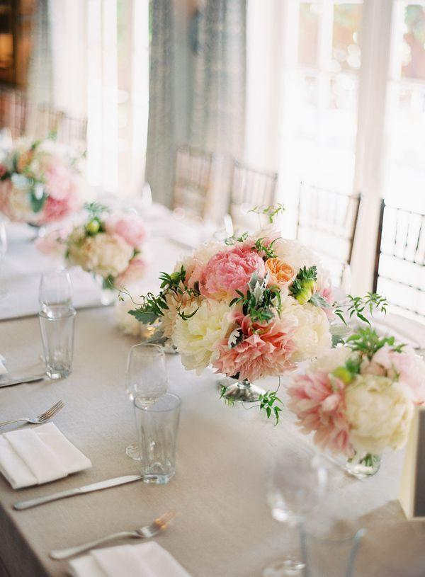 Wedding arrangements: 70 ideas for table, flowers and decoration 48
