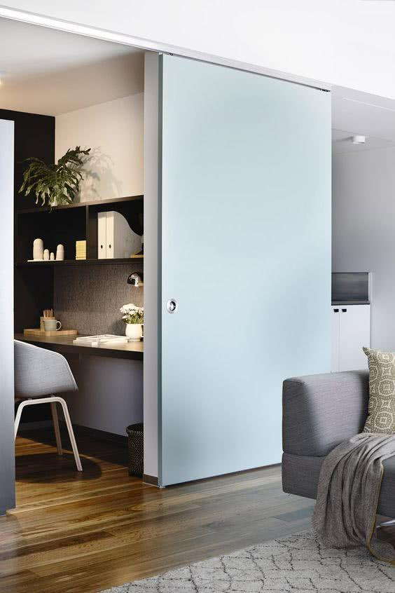 Sliding door: advantages of using and projects with photos 13