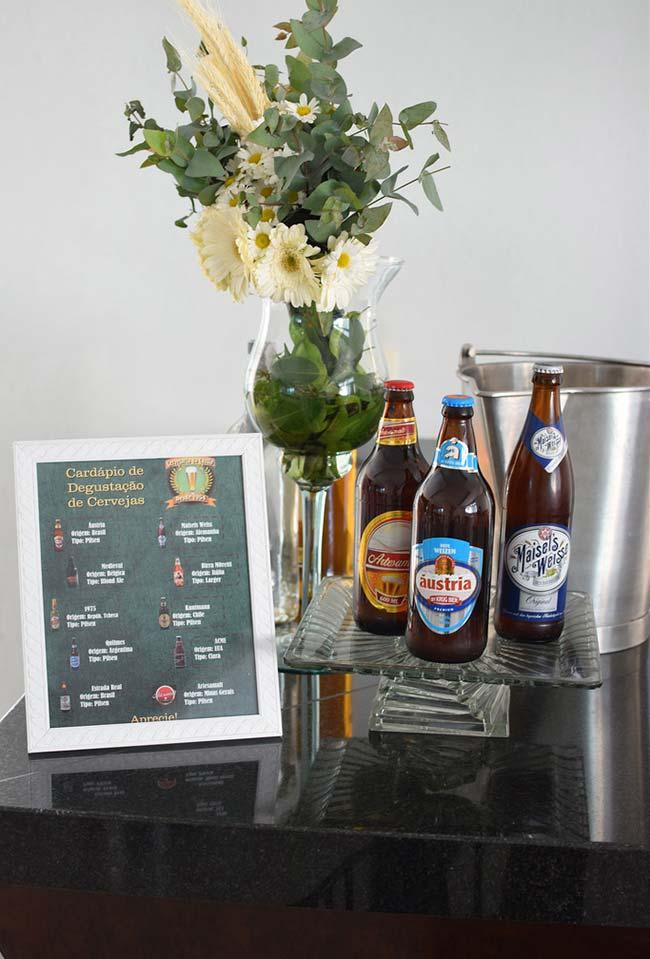 Different beer brands for your party-themed boteco