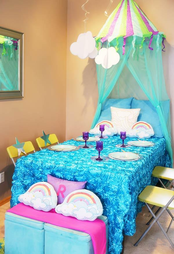 Pajama Party: 60 ideas to tear up the decor 2