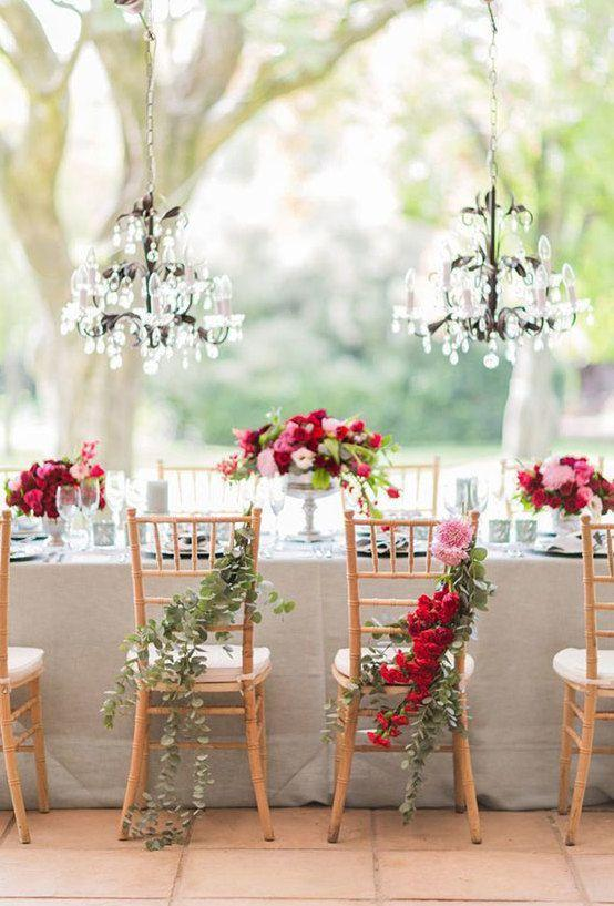 Wedding arrangements: 70 ideas for table, flowers and decoration 7