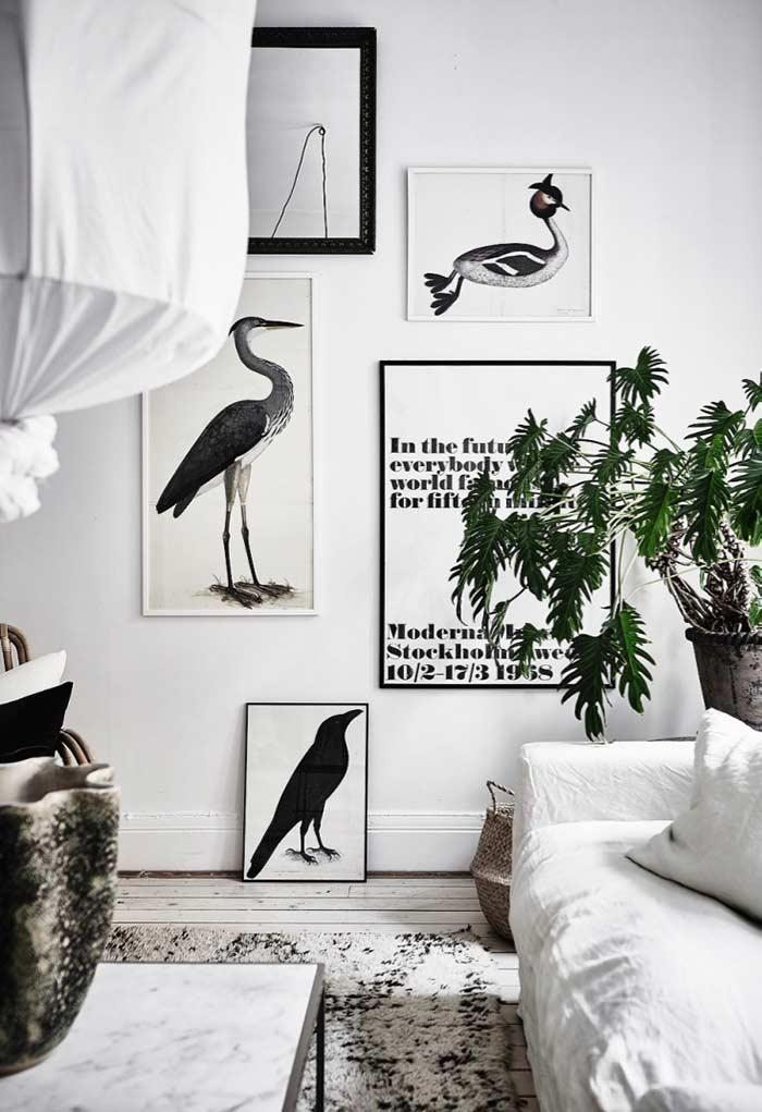 Decorative frames for decoration with Scandinavian style