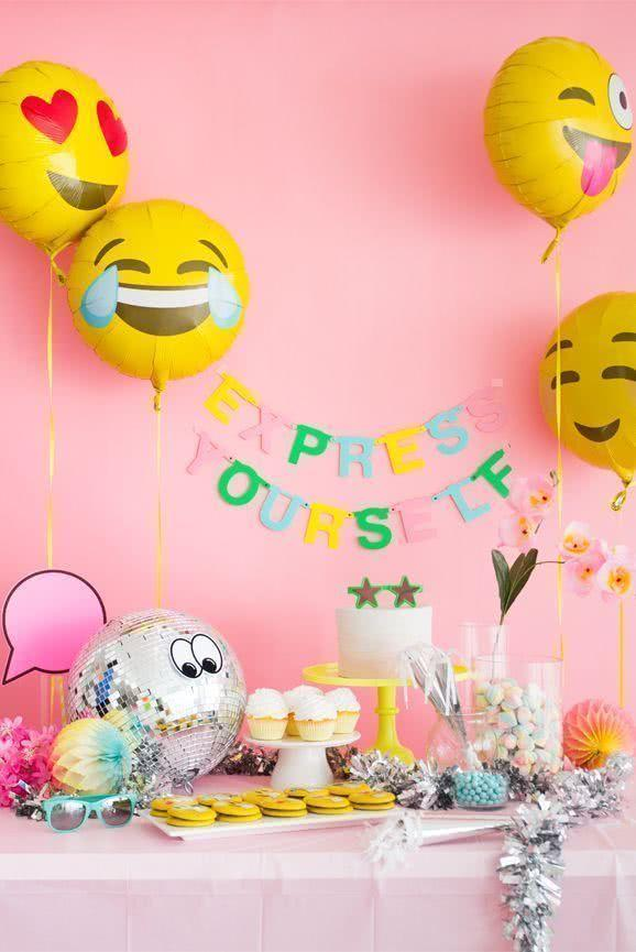 Decoration with balloons: 85 inspirations to decorate 16