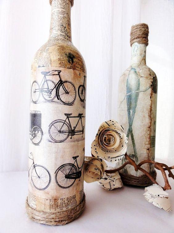 Glass Bottle Craft: 80 Awesome Tips and Photos 19