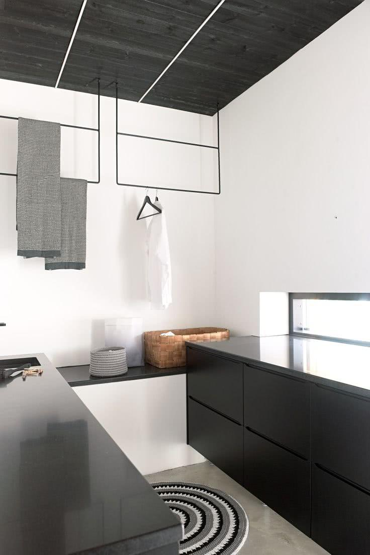 Black and white decoration: 60 ideas of environments to be inspired 16