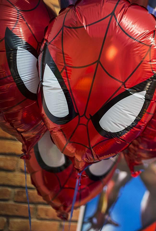 Balloons at the Children's Party