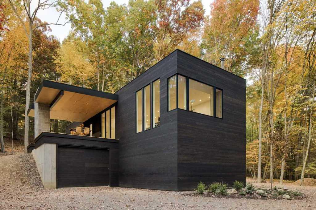 Houses with American style: 65 projects inside and out 4