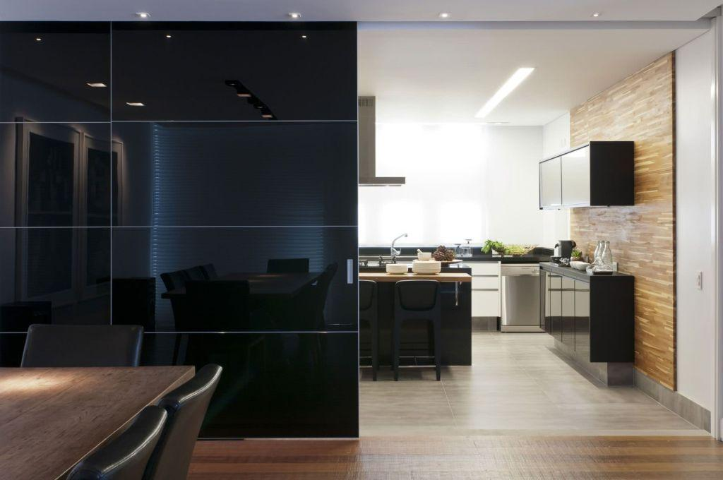 Sliding door: advantages of using and projects with photos 51