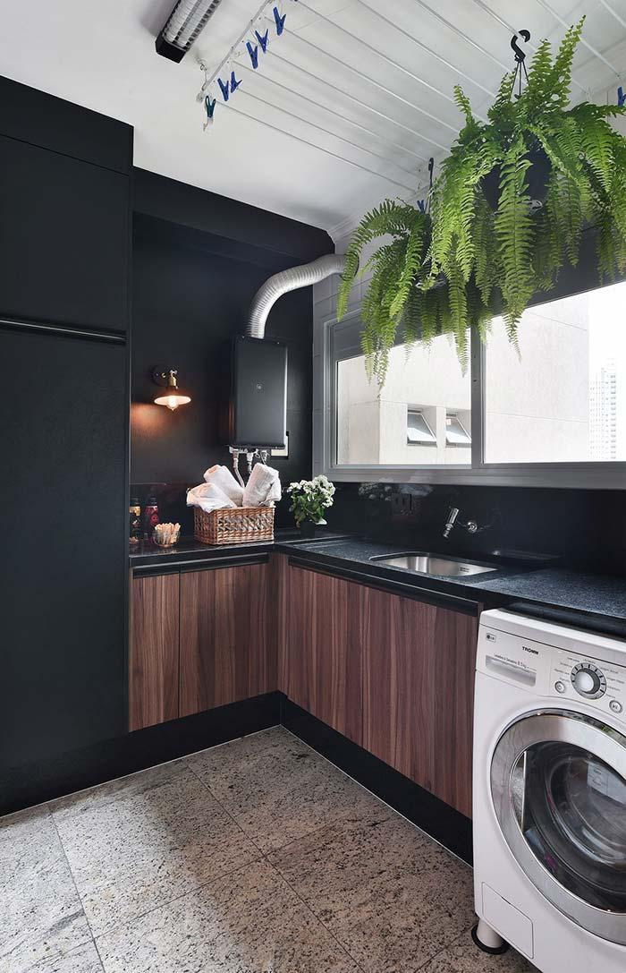 Absolute Black Granite on the kitchen counter